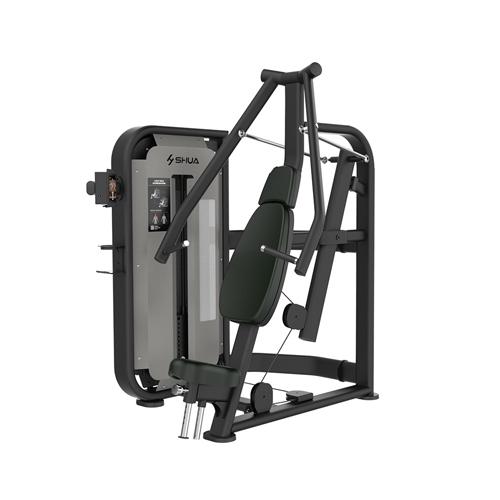vwin开户 坐式胸肌推举训练器(触屏版) SH-G6801T