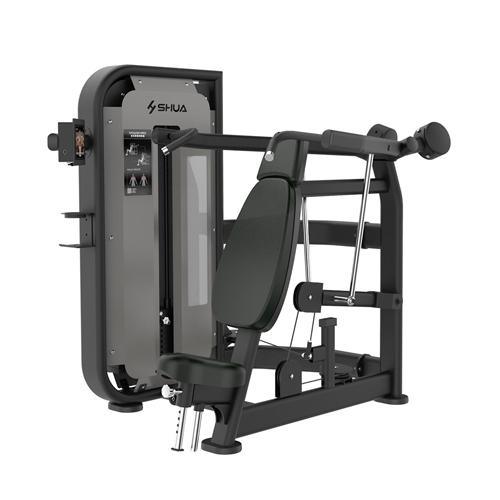 万博手机APP 坐式肩膊推举训练器(触屏版) SH-G6804T